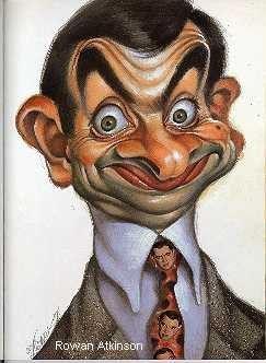 karikatura Mr .Beana